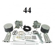 Kit complet double carburateurs Kadron 44mm D/A
