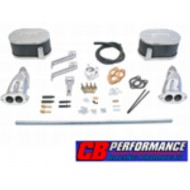 Kit de montage double carburateur Weber 34 ICT double admission CB Performance