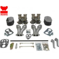 Kit double carburateur Weber 44 IDF