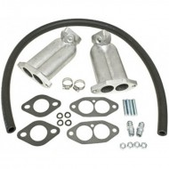 Kit pipes hautes D/A pour double carburation 34 ICT