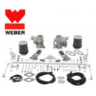 Kit double carburateur Weber 34 ICT double admission
