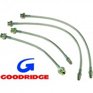 "Kit flexibles ""aviation"" Goodridge pour 1302 / 1303 à disques"