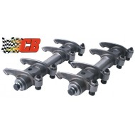 Set de 2 rampes de culbuteurs CB Performance en chromoly 4340 ratio 1,40