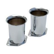 Set de 2 cornets de carburateur Weber IDF 40 et 44 8,2cm