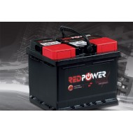 Batterie 12 Volts 62Ah 480A RED POWER