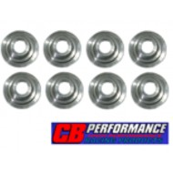 Set de 8 coupelles de soupapes CB Performance titanium