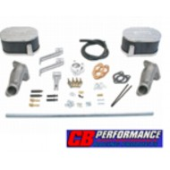 Kit de montage double carburateur Weber 34 ICT simple admission CB Performance