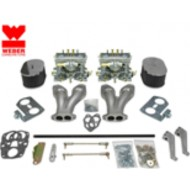 Kit double carburateur Weber 40 IDF