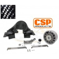 "Kit turbine 240mm ""Porsche"" en carbone sur Type 1"